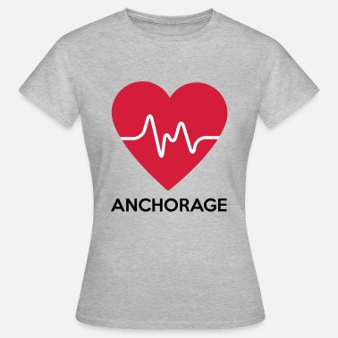 Anchorage coeur Anchorage - T-shirt Femme
