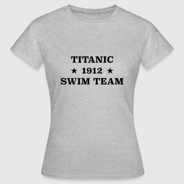 Titanic Swim Team 1912 - Frauen T-Shirt