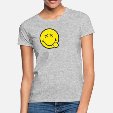 En Émoticône Shirts Smiley À LigneSpreadshirt T Commander gymY6Ib7vf