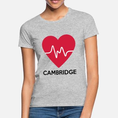 Cambridge hart Cambridge - Vrouwen T-shirt