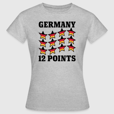 Germany 12 Points - Frauen T-Shirt