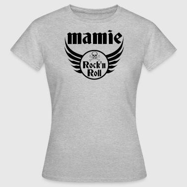 Mamie Rock and roll - T-shirt Femme