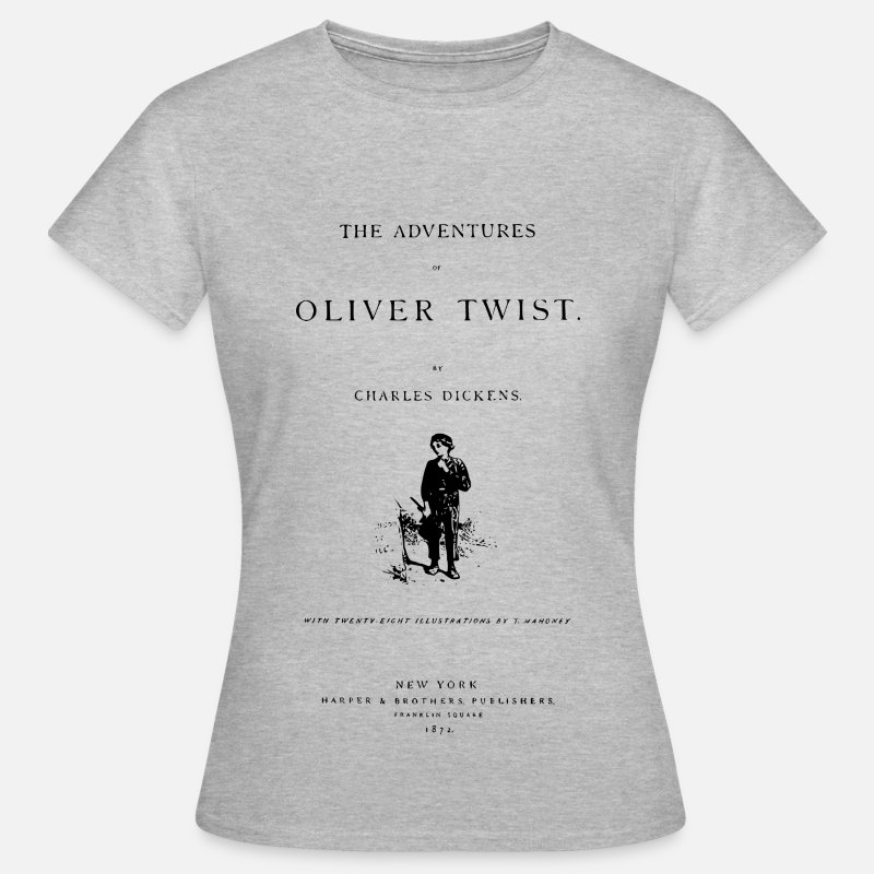 Charles T-Shirts - oliver twist - Women's T-Shirt heather grey