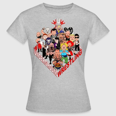 comics-wrestler - Frauen T-Shirt