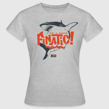 Animal Planet Hai Flosse Finatic Wortspiel - Frauen T-Shirt