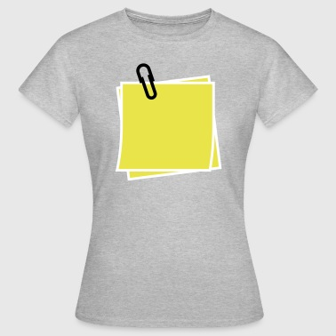 Notiz - Frauen T-Shirt