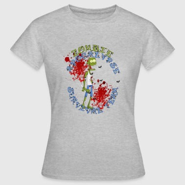 Team Zombie zombie apocalypse survival team - Women's T-Shirt