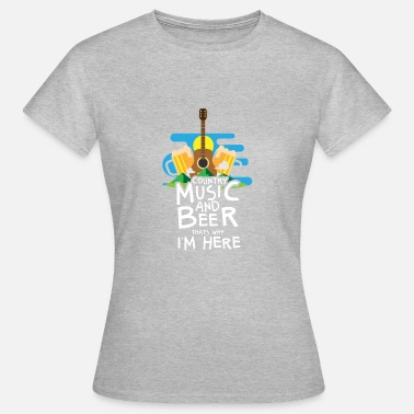 Music Festival Country Music Festival Gift - Vrouwen T-shirt
