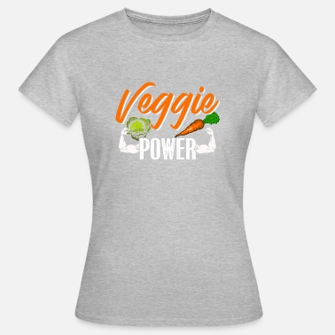 Veggie Power Veggie Power - Camiseta mujer
