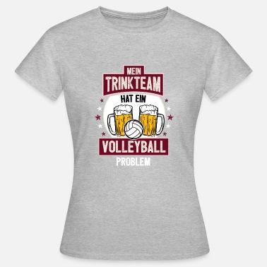 Verein Volleyball Saufen Verein Trikot Geschenk Bier Team - Frauen T-Shirt 47eade4b74