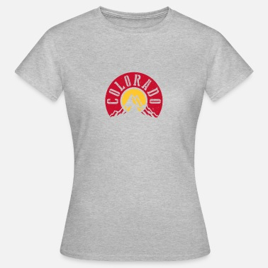 Colorado Springs Colorado - Vrouwen T-shirt