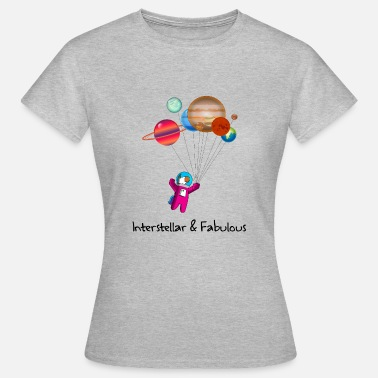 Interstellar Interstellar and fabulous unicorn space - Women's T-Shirt