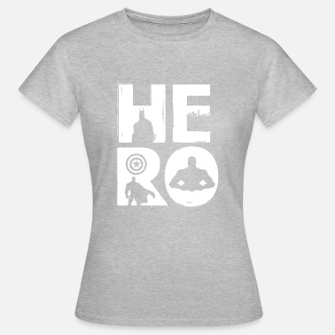 Super Hero HERO / super hero motif - Women's T-Shirt