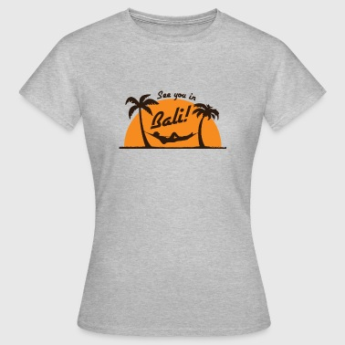 Camiseta Bali Backpacker Asia - Camiseta mujer