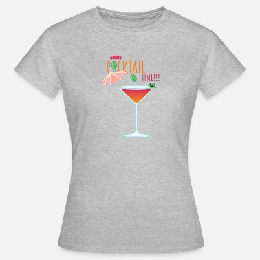 Cocktail Humour Cocktail d'été - T-shirt Femme