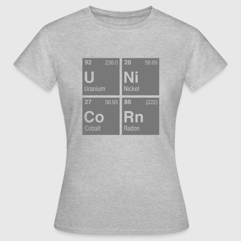 UNiCoRn Periodic Table of Elements - Women's T-Shirt