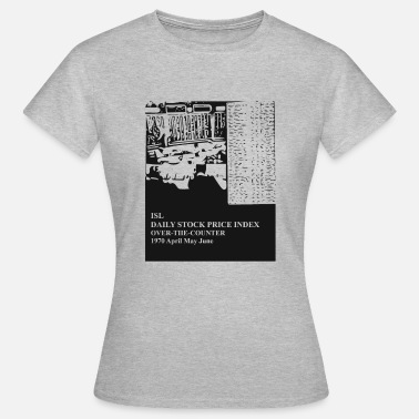 Stock Exchange Oldschool Stock Exchange 1970 - Women's T-Shirt