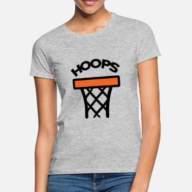 Basketball kurv - T-shirt dame