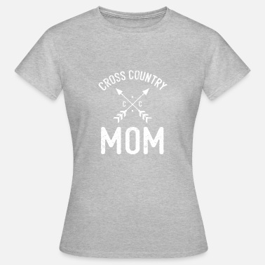 Country Designs Cross Country Mom Design - Women's T-Shirt