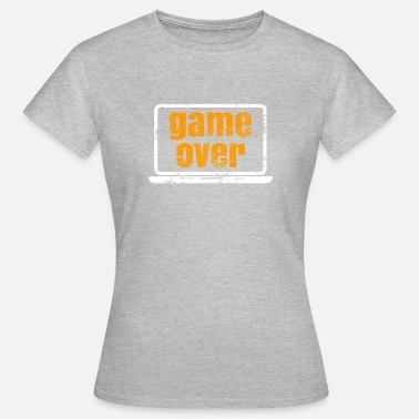 Monitor Game Over Monitor Presentspelare - T-shirt dam