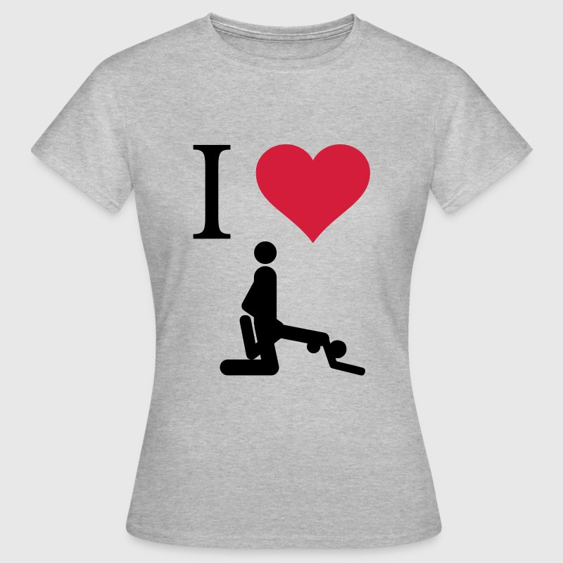 I love Sex - Women's T-Shirt