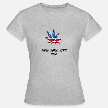 New York City NEW YORK CITY - Naisten t-paita