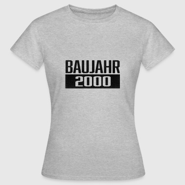 Year of construction 2000 year of birth - Women's T-Shirt