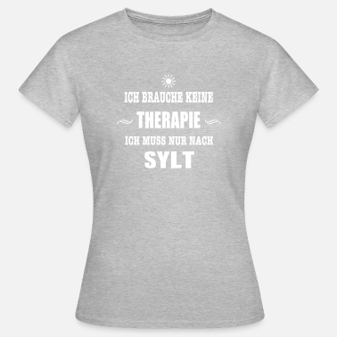 Therapie Sonne THERAPIE SYLT SONNE - Frauen T-Shirt