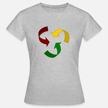 Rasta Rastacycle - Women's T-Shirt