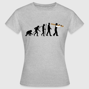 evolution_zimmermann_09_2016_b_3c - Frauen T-Shirt