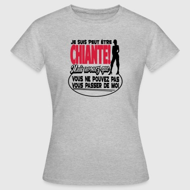 This cool and humorous design will entertain you. - Women's T-Shirt