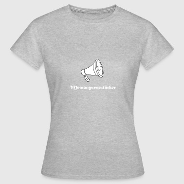 Amplifier opinion amplifier - Women's T-Shirt