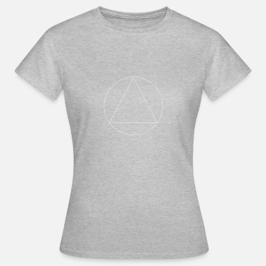Cercle Triangle Cercle triangle - T-shirt Femme