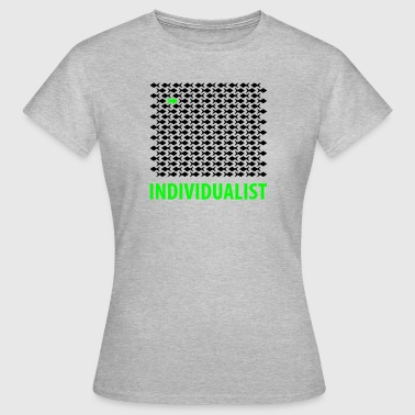 Individualist - fisk - Dame-T-shirt