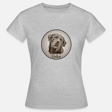 Association De Chiens Cisko Vintage - T-shirt Femme