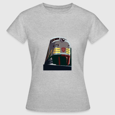 Train from the Rocky Mountains - Women's T-Shirt