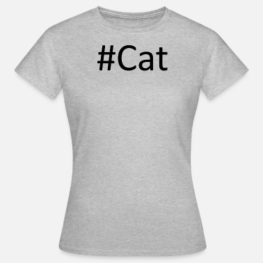 Pepper #cat - Vrouwen T-shirt