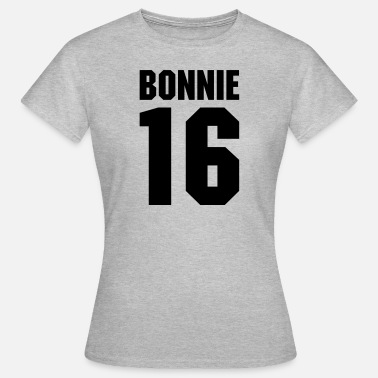 Beste Braut 2016 Bonnie 16 Teamplayer - Frauen T-Shirt