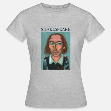 William Wallace William Shakespeare - Dame-T-shirt