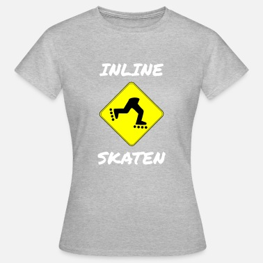 Inliners INLINER: INLINE SKATING - Dame-T-shirt