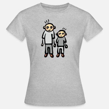 Ouders Zoon Vader zoon vader ouders - Vrouwen T-shirt