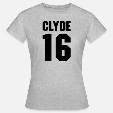Beste Braut 2016 Clyde 16 Teamplayer - Frauen T-Shirt