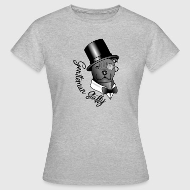 Staffy Dog gentleman Staffy - Women's T-Shirt
