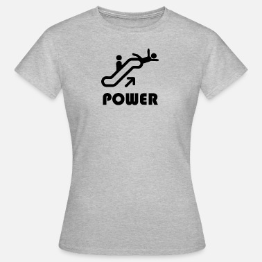 Dominant power blak - T-shirt Femme