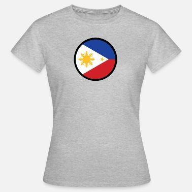 Jeepney Under The Sign Of The Philippines - Women's T-Shirt