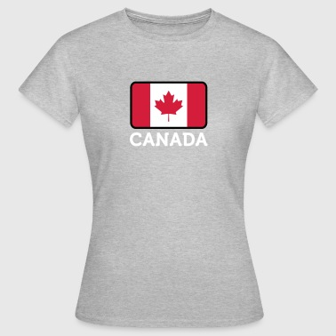 Reds Canada Flag National Flag Of Canada - Women's T-Shirt