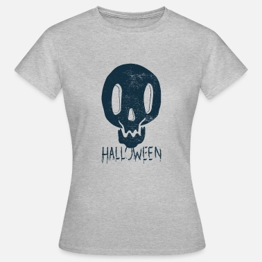 Coole Motive Roller Halloween T-Shirt / Cooles Halloween Shirt Motiv - Frauen T-Shirt