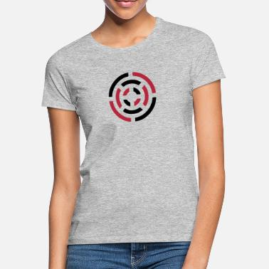 Stylish circle sign - Women's T-Shirt