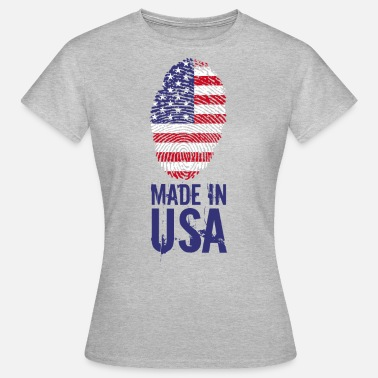 Made In Usa Made in USA / Made in USA Amerika - Vrouwen T-shirt