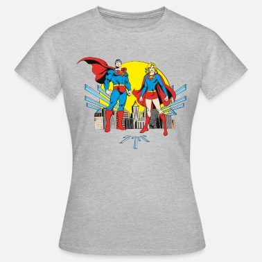 Supergirl DC Comics Originals Superman And Supergirl - Naisten t-paita